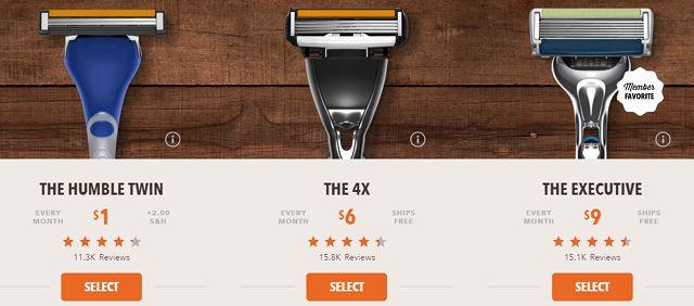 Suscripción-box-precio-dólar del afeitado