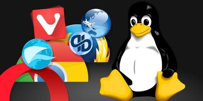 ¿Está utilizando el mejor navegador web para linux en 2016?