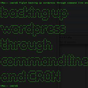 Automatizar la copia de seguridad de wordpress con un simple shell scripts y cron