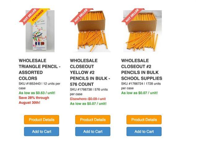 dólar-día-lápices