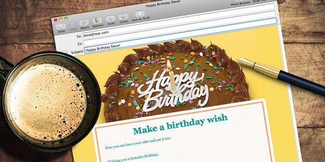 Embellecer su correo electrónico con la papelería mail de apple
