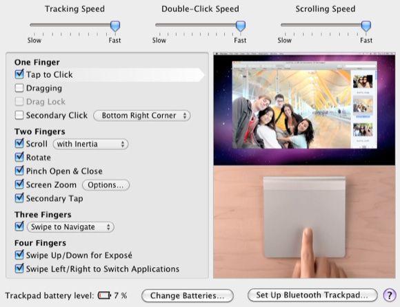 trackpad software Mac