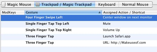 aplicación magic trackpad
