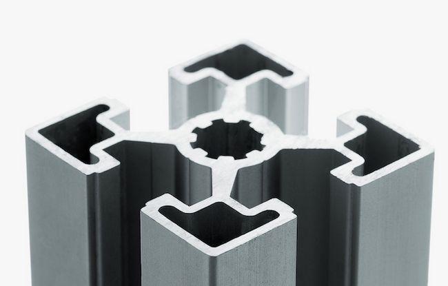 T-ranura de extrusión de aluminio
