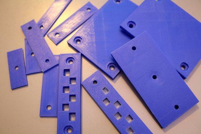 Los soportes de aluminio de extrusión 3D