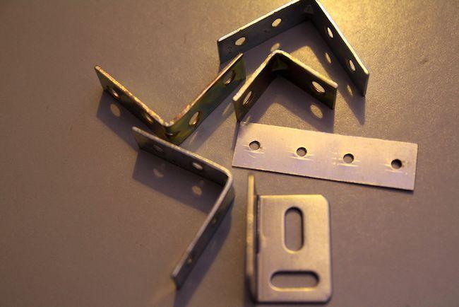 Los soportes de aluminio de extrusión