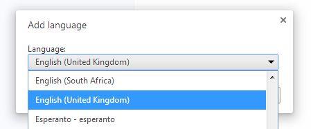 Añadir a Chrome Idioma