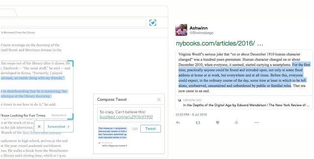 Chrome Twitter Extensión Chirp