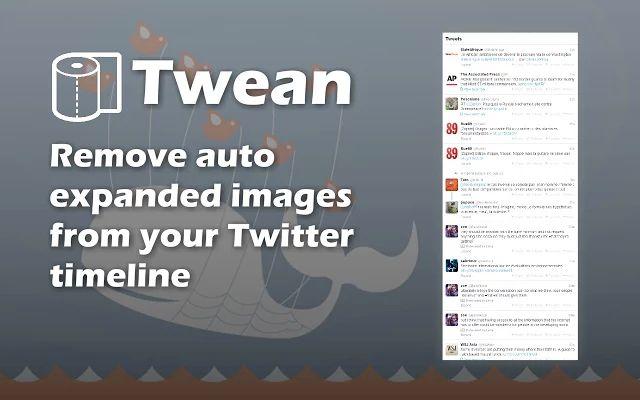 Chrome Twitter Extensión Twean