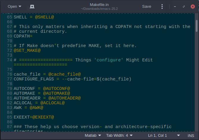 makefile emacs