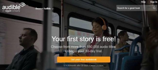 Audible Mobile App