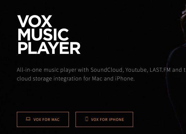 vox-reproductor de música