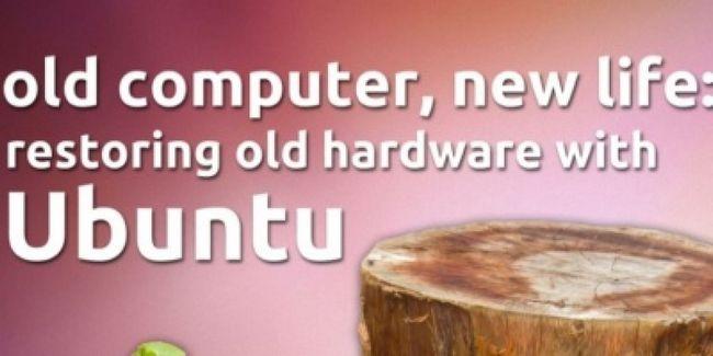 Llevar un ordenador viejo a la vida con ubuntu