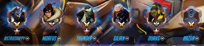 Overwatch Habilidad iconos de nivel