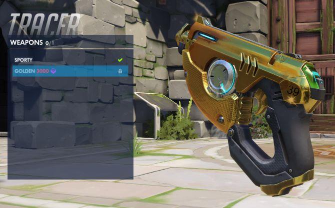 Overwatch oro Arma