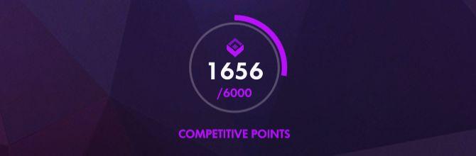 Puntos competitivos Overwatch de cada 6.000