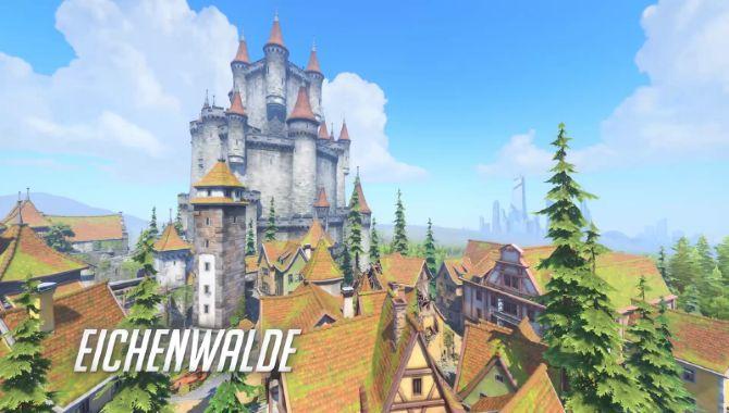 Overwatch Mapa Eichenwalde