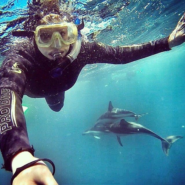 bajo el agua GoPro