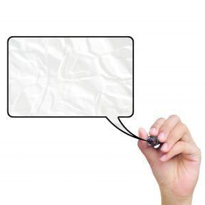 Llamada con las palabras: cómo utilizar microsoft powerpoint para la elaboración de las burbujas del discurso en cualquier fotografía