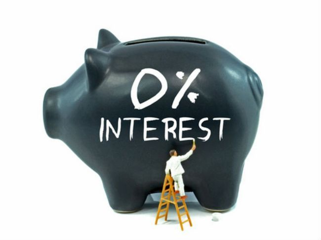 0 por ciento de ahorro de interés