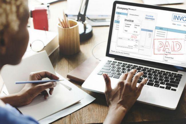 El pago de facturas en línea