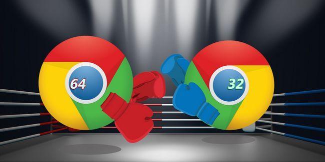 Chrome 64 bits vs 32 bits para windows - es de 64 bits vale la pena instalar?