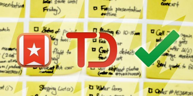 Chrome lista de tareas enfrentamiento: wunderlist, tareas de google, y todoist