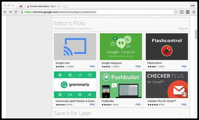 navegador-cromo-extensions