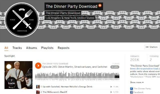 Cena Podcast en SoundCloud