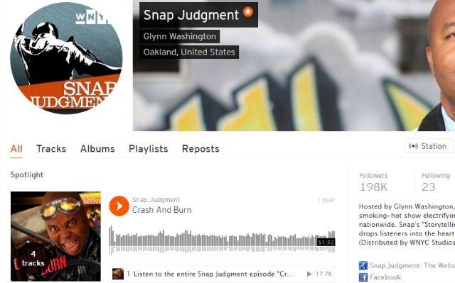 Snap Juicio Podcast en SoundCloud