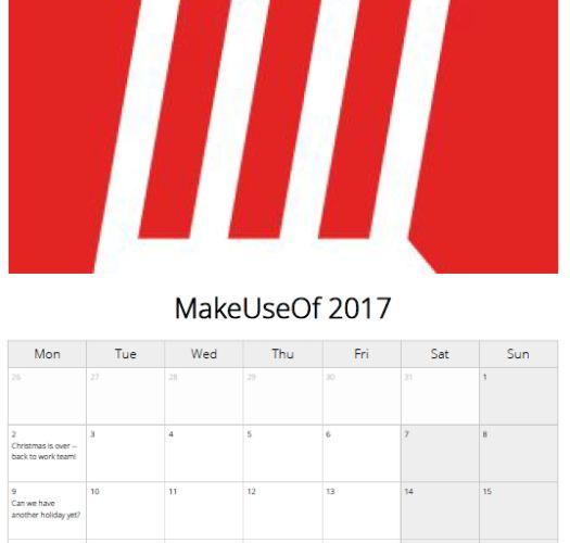 calendario Pically