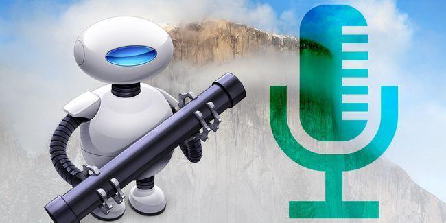Crear comandos de voz potente mac personalizado con yosemite y automator