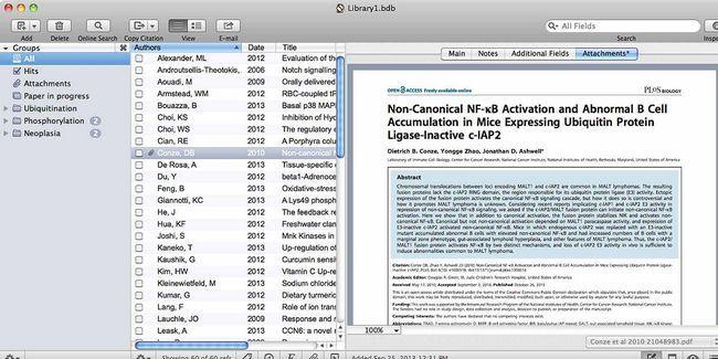 Creación de bibliografías y citas de nota al pie es más fácil con sujetalibros para mac