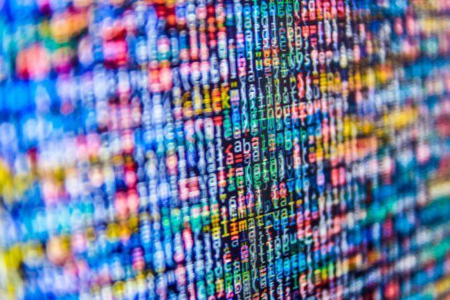 bits y datos de corriente