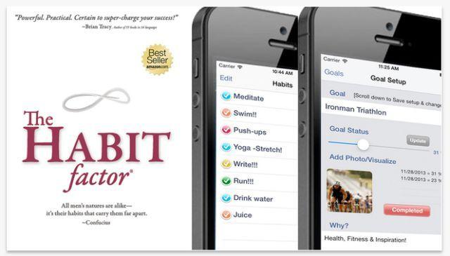 factor de aplicación hábito