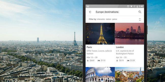 Google no hacer el mejor planificador de vacaciones para android?