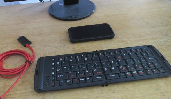 smartphone como escritorio