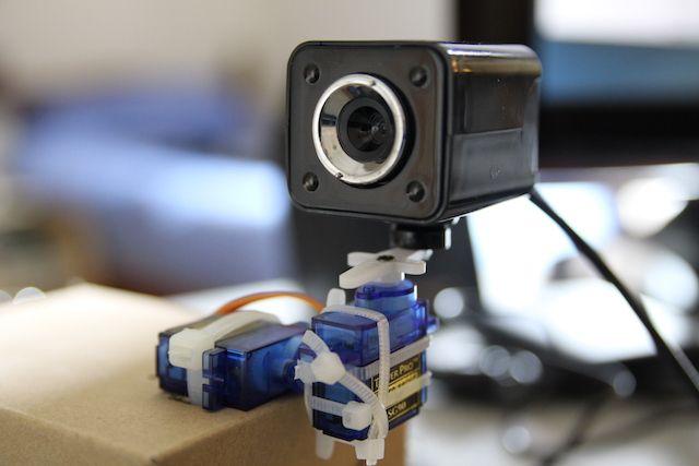 Pi-Pan-Tilt-cámara