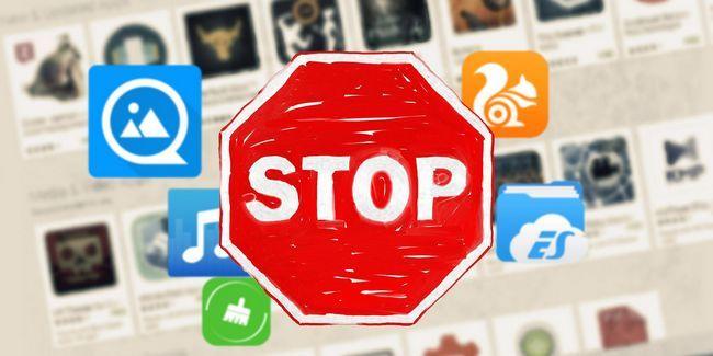 No instale estos 10 android aplicaciones populares