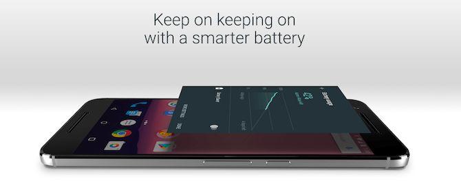 la batería androide