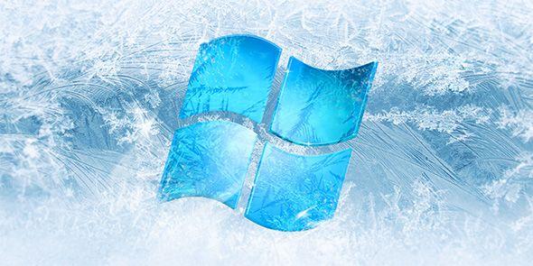 boletín de congelación-ventanas