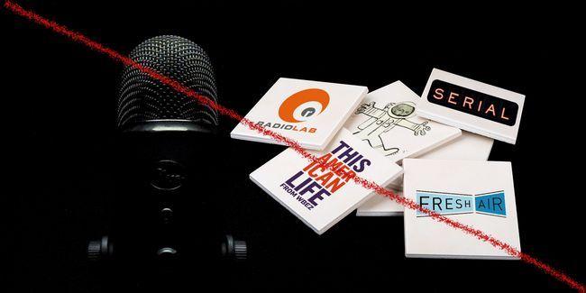 ¿No te gusta podcasts? Leer 17 alternativas para los programas más populares