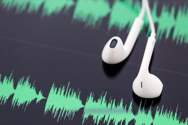 Auriculares de onda de sonido