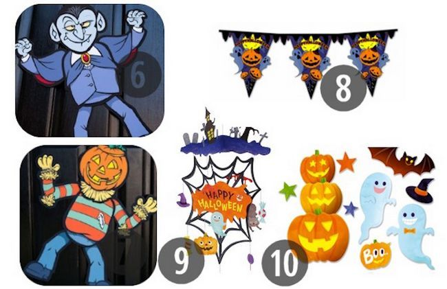 Imprimibles de Halloween - decoraciones del partido
