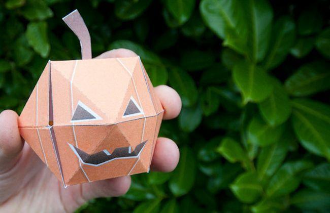 Imprimibles de Halloween - calabazas Pop-Up