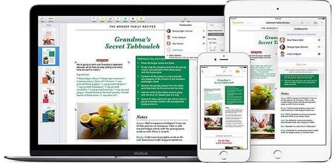 páginas de manzana