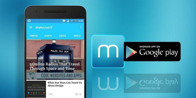 Descarga la nueva aplicación para android makeuseof