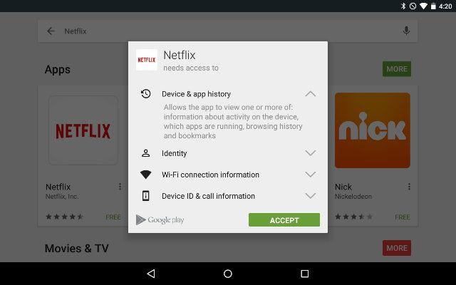 AndroidGooglePlay-Permisos