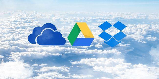 Dropbox vs google drive vs onedrive: almacenamiento en la nube, que es mejor para usted?