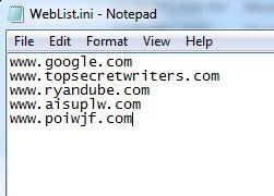 correo electrónico línea de comandos blat